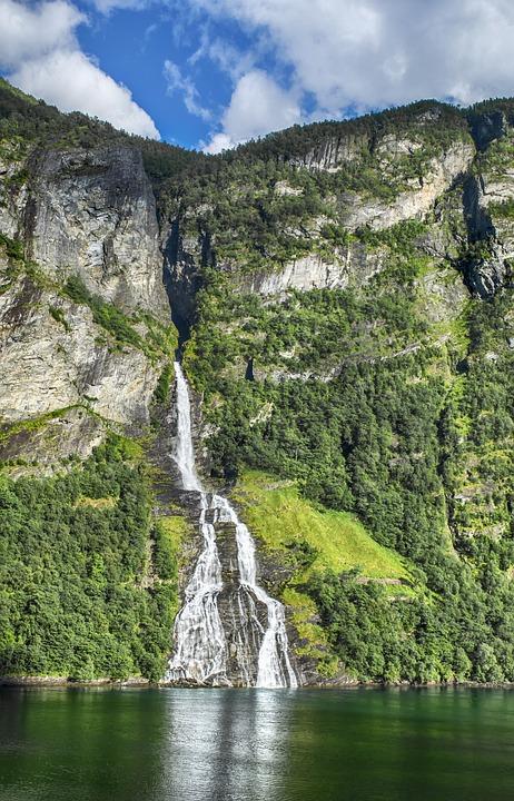 Wasserfall Geiranger