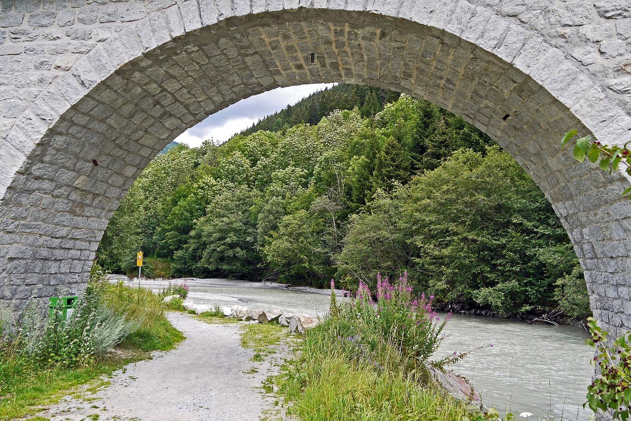 Viadukt Fluss