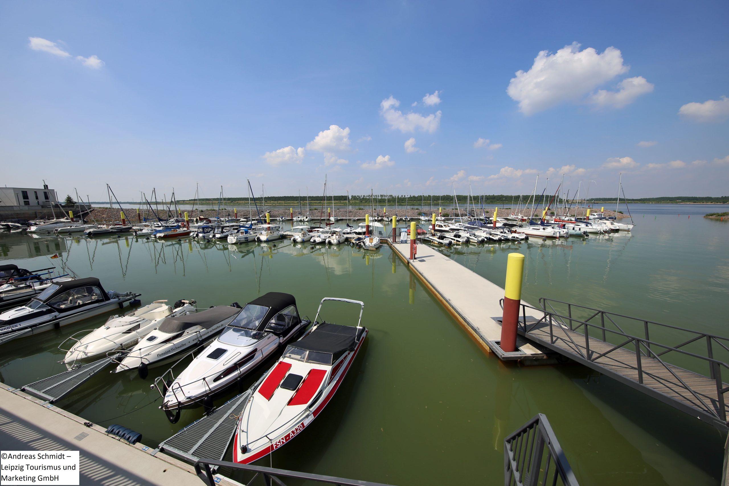 Zwenkauersee Hafen