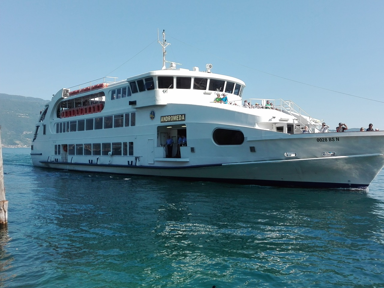 Schifffahrt Gardasee