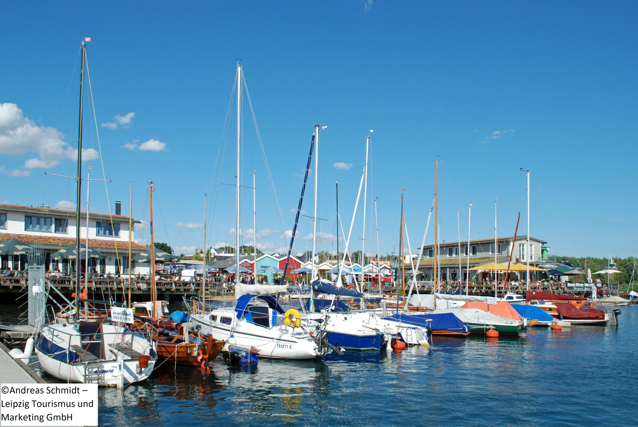 Cospudener See Hafen